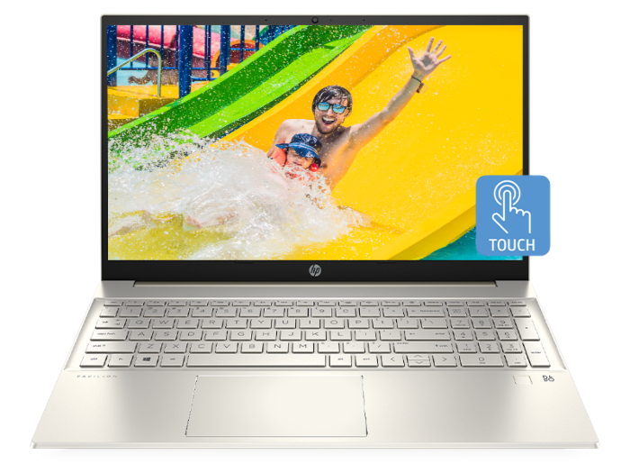 HP Pavilion Laptop 15-eg0084TX (Warm Gold)