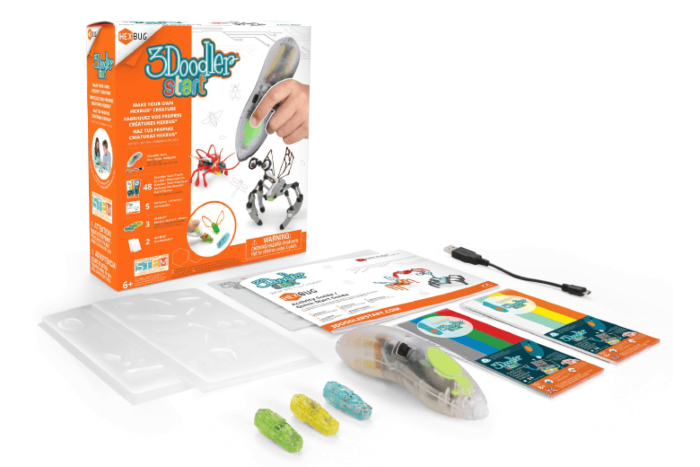 3Doodler Start Make Your Own HEXBUG® Creature 3D Printing Pen Set