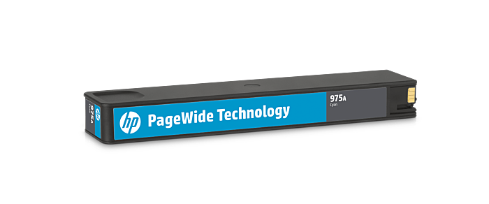 HP 975A 綻藍原廠 PageWide 墨盒