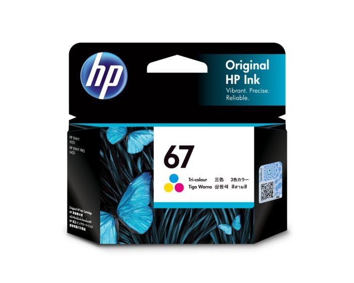 HP 67 三色原廠墨盒