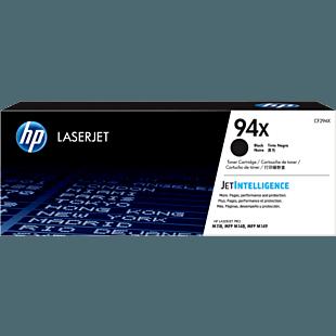 HP 94X 高打印量黑色原廠 LaserJet 碳粉匣