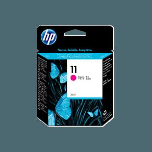 HP 11 洋紅原廠墨盒
