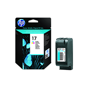 HP 17 三色原廠墨盒