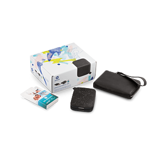 Gift Box - HP Sprocket Photo Printer (New Edition)- Noir-Black