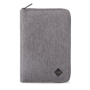 Code 10 Travel Wallet (grey)