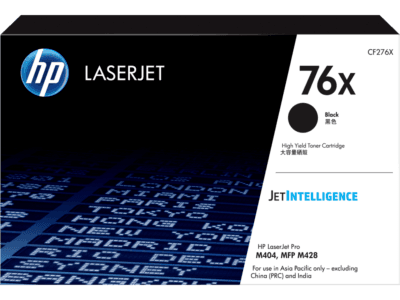 HP 76X High Yield Black Original LaserJet Toner Cartridge
