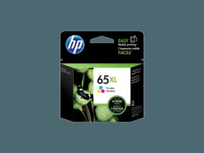 HP 65XL 三色原廠墨盒