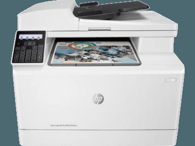 HP Color LaserJet Pro多功能打印機 M181fw