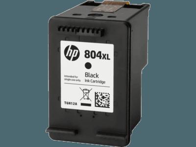 HP 804XL 高印量黑色原廠墨盒