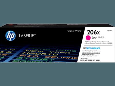 HP 206X High Yield Magenta Original LaserJet Toner Cartridge