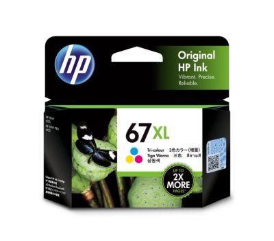 HP 67XL 高打印量三色原廠墨盒