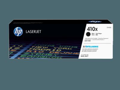 HP 410X 高打印量黑色原廠 LaserJet 碳粉盒