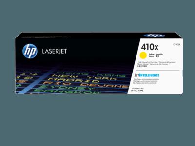 HP 410X 高打印量黃色原廠 LaserJet 碳粉盒