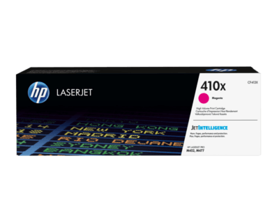 HP 410X 高打印量洋紅原廠 LaserJet 碳粉盒