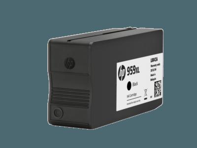 HP 959XL 高打印量黑色原廠墨水盒
