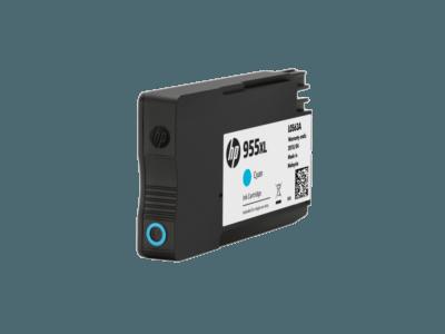 HP 955XL 高打印量綻藍原廠墨水盒