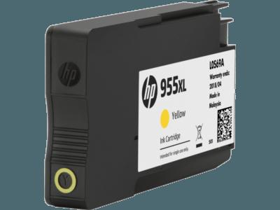 HP 955XL 高打印量黃色原廠墨水盒