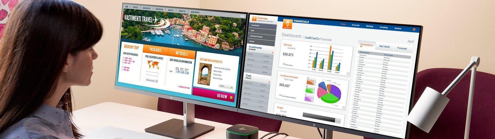 HP Monitor Display