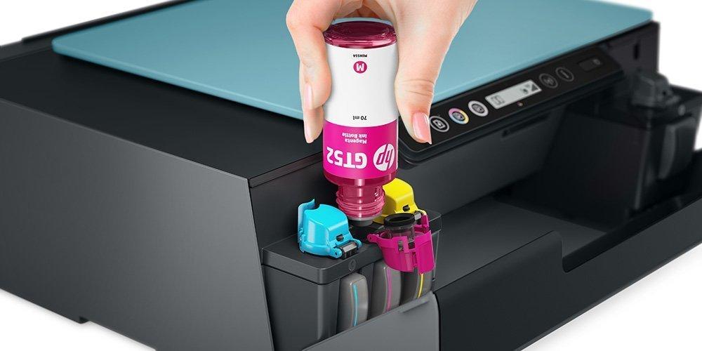 將HP Inkjet墨水液體重新填充到打印機墨水盒中