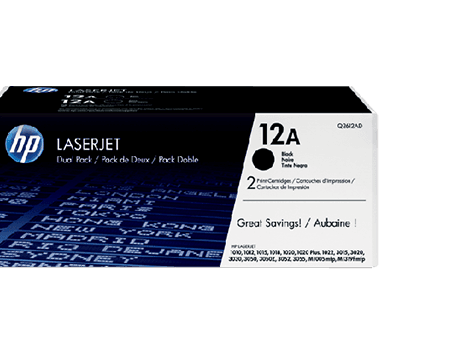 Dual standard  toner cartridges